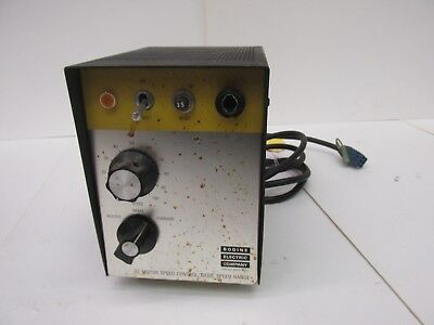 Bodine Electric Co. ASH-400 Encased Type D-C Motor Speed Control 43286WVS
