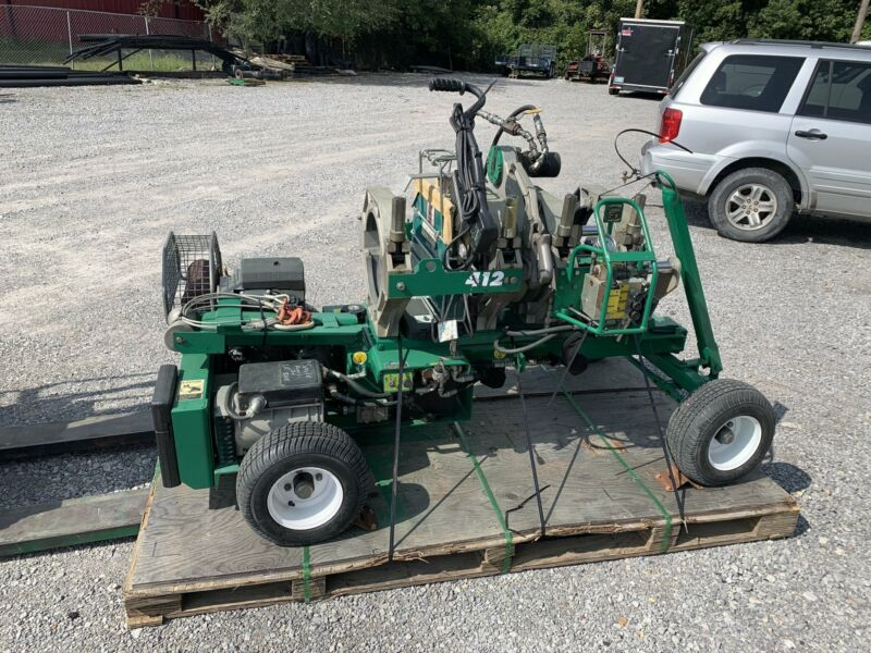 2008 McElroy Rolling 412 High Force Fusion Machine
