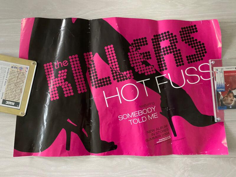THE KILLERS - 2004 Hot Fuss - 17x11 Promo Poster Very Rare! Brandon Flowers