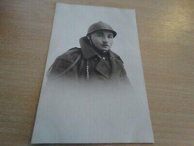 carte postale - militaire en pose