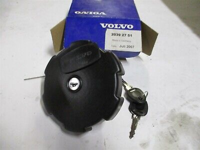 20392751 Locking Fuel Cap With Keys New Oem Volvo L60 L90 L110 L120