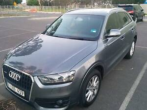 Perfect condition 2013 Audi Q3 SUV - must go by 1 October Southbank Melbourne City Preview