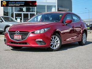 Clean 2015 Mazda3 GS Hatchback w/ Heated Seats Soul Red Metallic