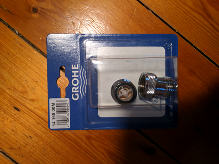 Grohe water saver valves
