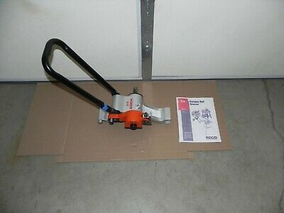 Ridgid Power - Driven 916 Roll Groover 1-14 To 6 For Use With Rigid 300 535