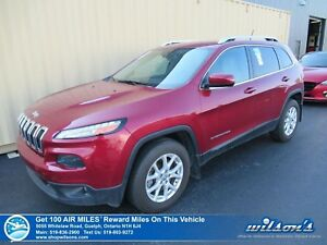2015 Jeep Cherokee NORTH V6 4WD | HEATED STEERING + SEATS | REMO