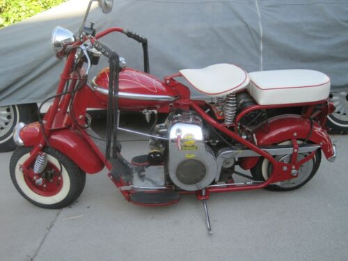 1949 Cushman Eagle Motor Scooter motorcycle. Electric Start. Restored. NICE !!