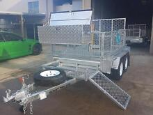 NEW 10 X 6 TANDEM HOT DIPPED GAL HEAVY DUTY TRAILER & 600MM CAGE Cairns City Preview