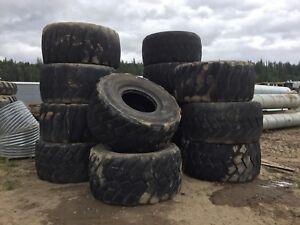 750/65R25 Bridgestone and Michelin Tires
