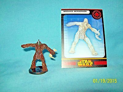 WotC Star Wars Miniatures Wookiee Berserker, RotS 22/60, Republic, Common