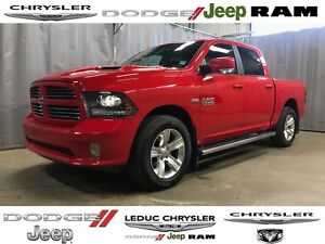 2016 Ram 1500 Sport LEATHER HEATED/VENTED SEATS SPORT HOOD ALPIN