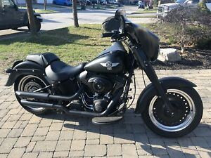 2012 Harley Davidson Fat Boy Low