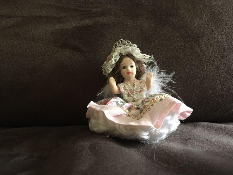 3 Inch Porcelain Doll Ornament