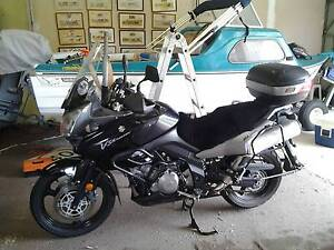 2007 Vstrom 1000cc and trailer Stawell Northern Grampians Preview
