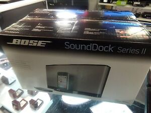 Bose SoundDock Series II with Remote BRAND NEW