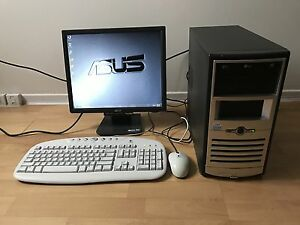 Complete ASUS desktop computer in perfect condition