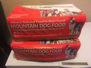2 x Chicken and veggie raw dog food $40 obo