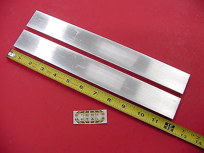 2 Pieces 58 X 1-12 Aluminum 6061 Flat Bar 12 Long T6511 Mill Stock
