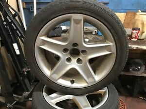 Acura rims with snows