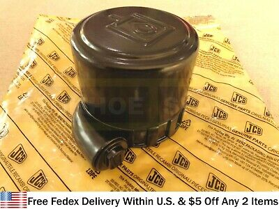 Jcb Parts - Genuine Hydraulic Filler Cap Part No. 32925421 333y1376