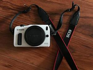 Canon EOS M Body Only (White) + Accessories Sydney City Inner Sydney Preview