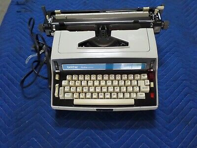Rare Brother Pro-lectric Model 6213 Electric Typewriter Xlnt Working Condition