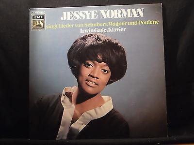 Jessye Norman singt Lieder von Schubert, Wagner und Poulene