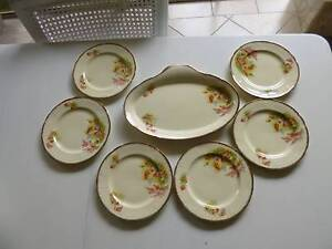Alfred Meakin China Sandwich Set 7 pce Marangaroo Wanneroo Area Preview