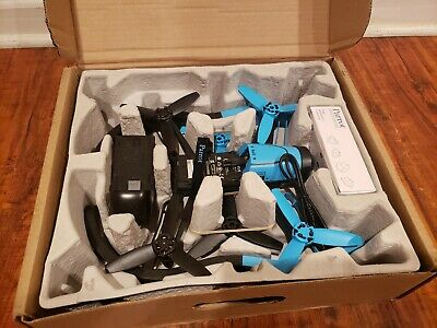 Imitator Bebop Quadcopter Camera Drone 14MP Full HD 1080p Blue No Battery