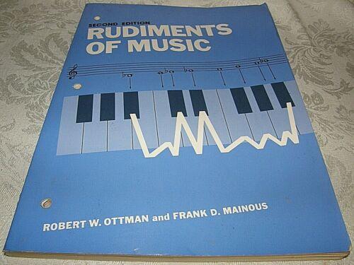 Rudiments of Music, Ottman and Mainous