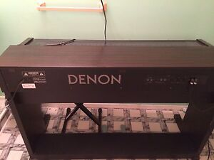 Denon electric piano & organ.