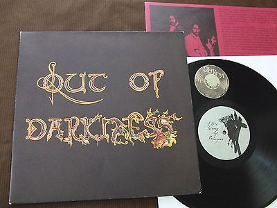 LP Out Of Darkness Same Germany 1989 POSTER COVER +Ois | M- to EX