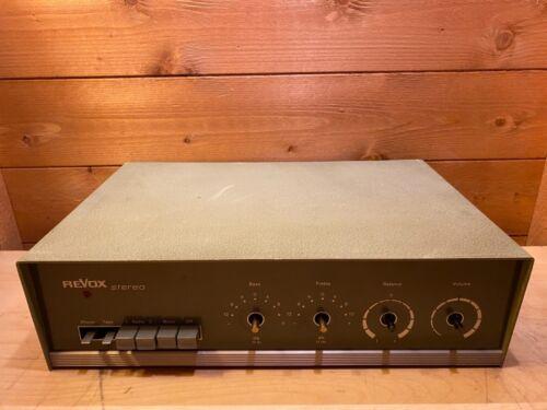 REVOX Modell 40 Valve Amplifier