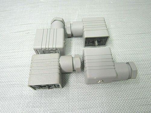 Hirschmann Solenoid Connector TypeA Lot of 4