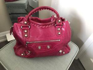 Balenciaga Inspired Leather Bag