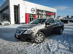 2013 Nissan Sentra SL, NAVIGATION, LEATHER, SUNROOF, BACK UP CAM