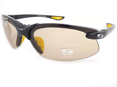 Sunwise Fotocromático Waterloo Gafas de Sol Negras Luz Sensible Lentes