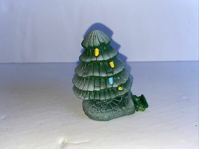 GeoTrax Christmas In Toy Town Holiday Train Set Replacement Pine Tree Accessory