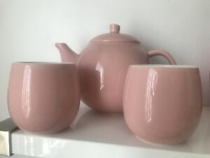 David's Tea - teapot and bubble cups -Pink
