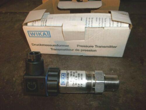 NIB WIKA 8341155 PRESSURE TRANSMITTER 0-160 PSI (DR3F1)