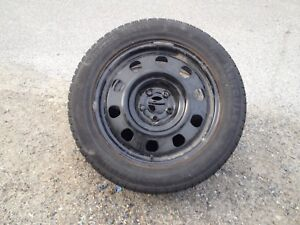 """Set of 17"""" winter tires. Mounted and balanced."""