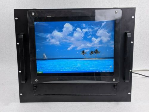 "Server Rack Monitor Mount w/ Dell E170Sc 17"" LCD 1280 x 1024 at 60 Hz"