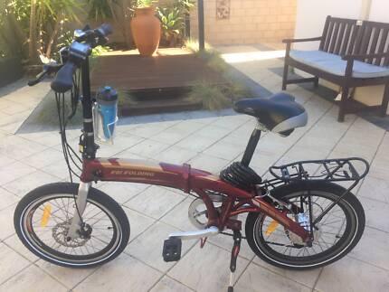 Ebike FBI Folding Electric Bike - As New -