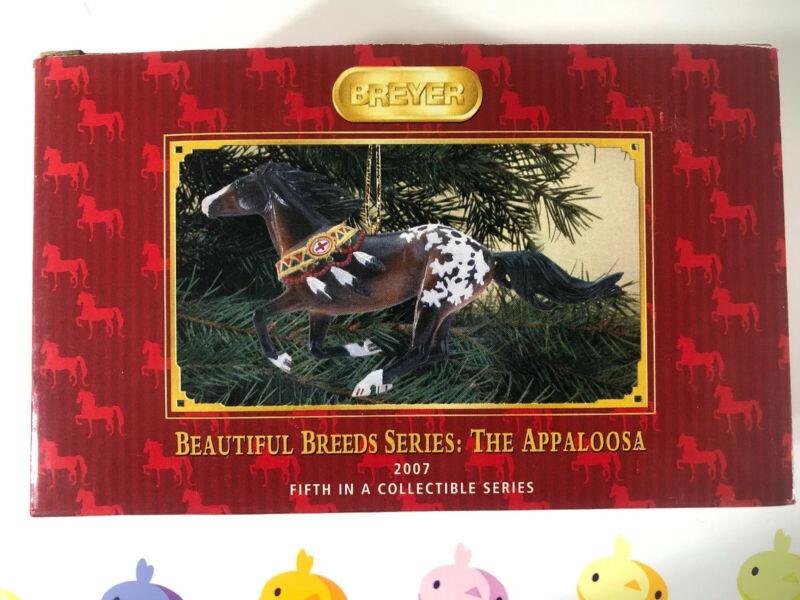Breyer Beautiful Breeds Appaloosa 5th In Series Christmas Ornament #700507 NIB