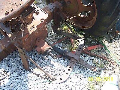 Internationalfarmall H Tractor Rear Drawbar Assm Belly And Horse Shoe