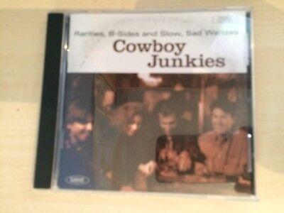 COWBOY JUNKIES - RARITIES, B-SIDES AND SLOW, SAD WALTZES (CD ALBUM)