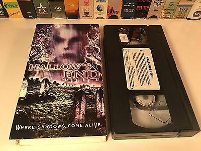 * Hallow's End Horror VHS 2003 Stephen Cloud Halloween Haunted House Horror](Halloween Haunts Vhs)