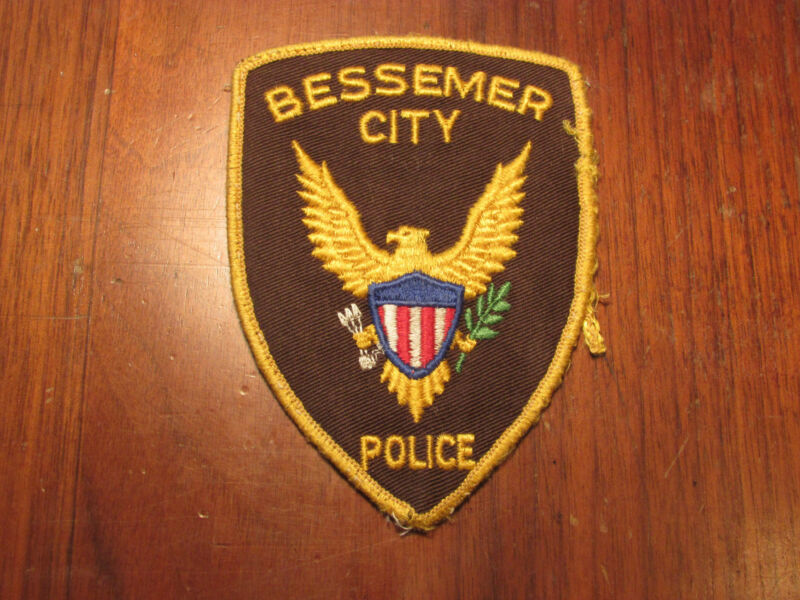 BESSEMER NORTH CAROLINA POLICE PATCH