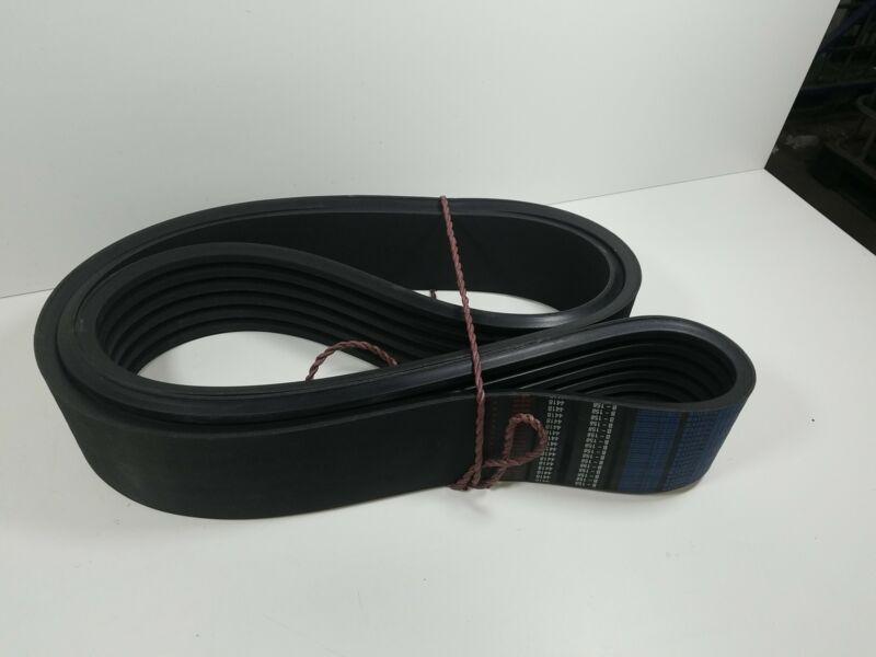D&D PowerDrive 6/BX158 Cogged Banded V Belt, 6 Number of Band, Rubber