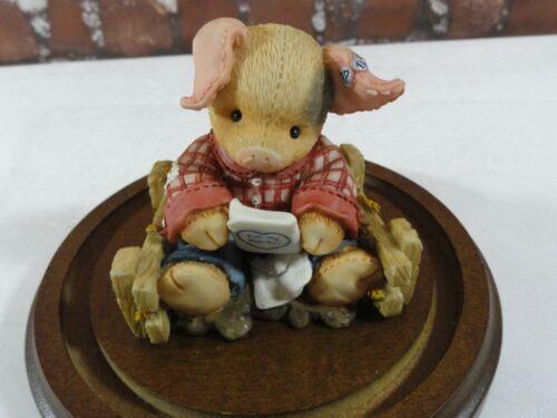 VTG THIS LITTLE PIGGY TLP *PEN-PALS 1996 edition by Enesco~cute~EUC~collector